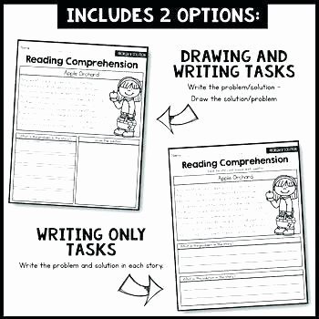 Problem and solution Reading Worksheets New Story Elements Worksheets 2nd Grade