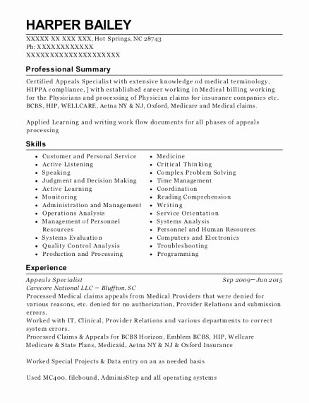 Problem solving and Comprehension Medical Biller Resume Objective Best 3 4 Medical Biller