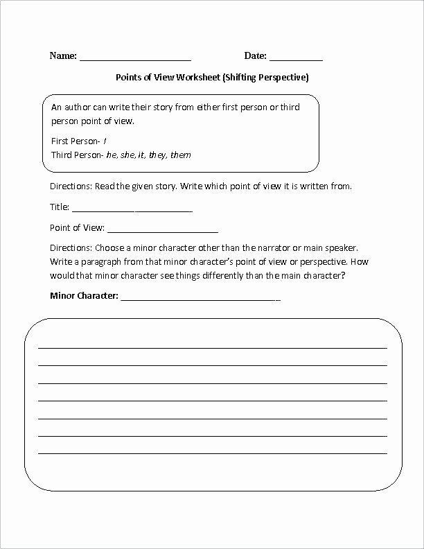 Pronoun Worksheets 6th Grade Pronoun Practice Worksheets