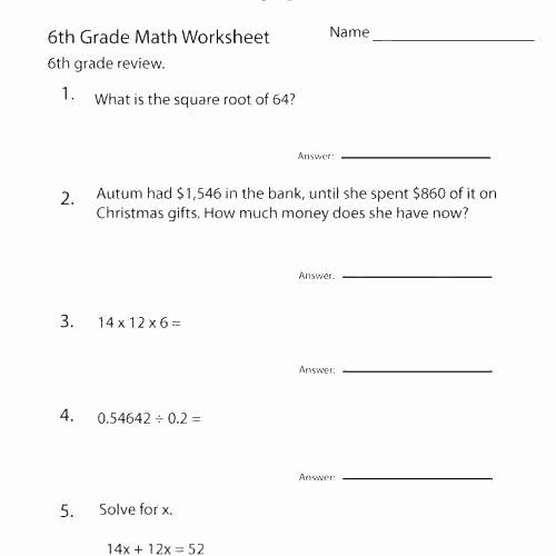Pronoun Worksheets 6th Grade Worksheets for Grade Math Free Printable 6th