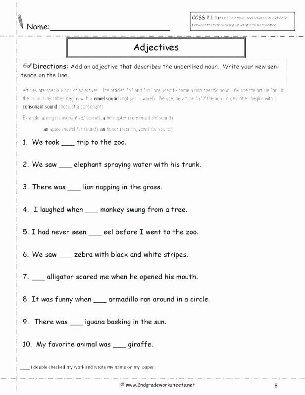 Pronoun Worksheets for 2nd Graders Free Printable Possessive Nouns Worksheets and Printouts