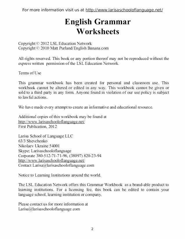 worksheets inspirational high school grammar with free for from perfect online grade 3 pronoun pronouns exercise relative