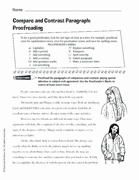 Proofreaders Marks Worksheets Proofreading Worksheets 3rd Grade – Deglossed
