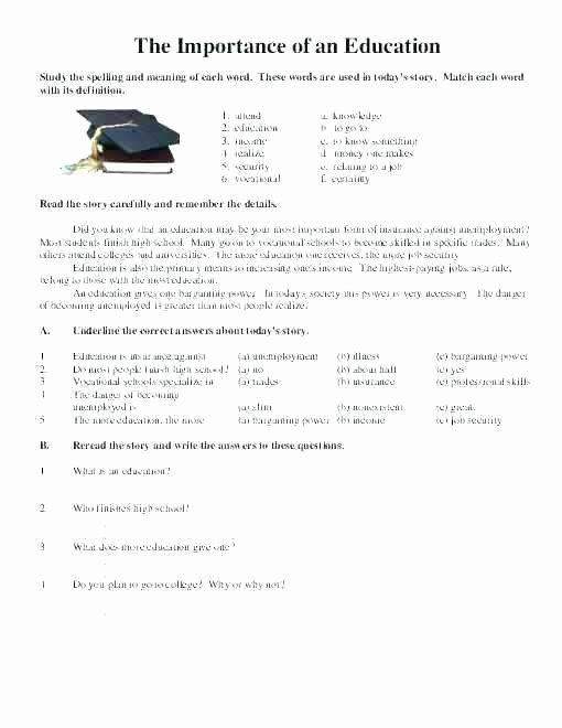 Proofreading Practice Middle School Editing Worksheets High School
