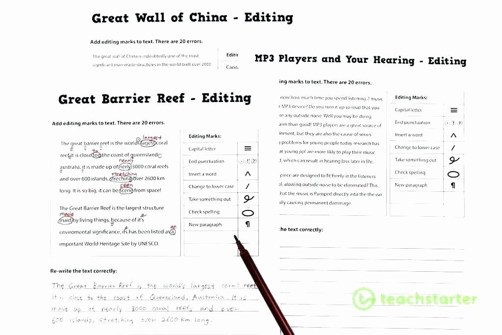 Proofreading Worksheets 5th Grade Editing Worksheets 5th Grade Editing Worksheets Grade Grade