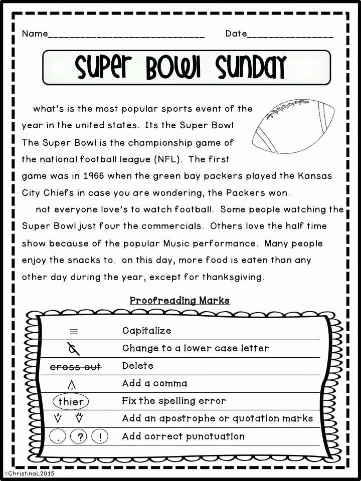 Proofreading Worksheets 5th Grade Ma Splice Worksheet with Answers Activities On Excel Grammar