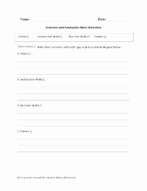 Proofreading Worksheets 5th Grade Quotation Marks Worksheets 5th Grade