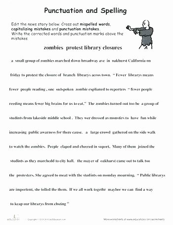 Proofreading Worksheets 5th Grade Verbs Grade Resources Subject Verb Agreement Worksheet