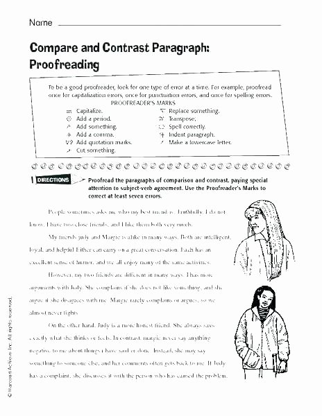 Proofreading Worksheets High School Grammar Worksheets High School Pdf