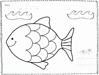 Rainbow Fish Printable Worksheets Elegant Fish Template Preschool – Jimbuttfo