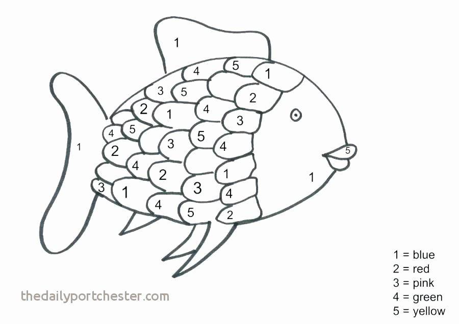 Rainbow Fish Printable Worksheets Luxury 11 Fresh Rainbow Fish Coloring Page