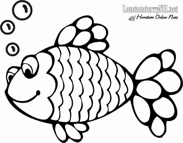 Rainbow Fish Printable Worksheets Unique √ Free Fish Coloring Pages and Printable Fish Coloring