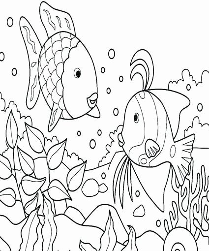 Rainbow Fish Worksheets Fresh Fish Coloring Sheet Rainbow Fish Crafts Rainbow Fish