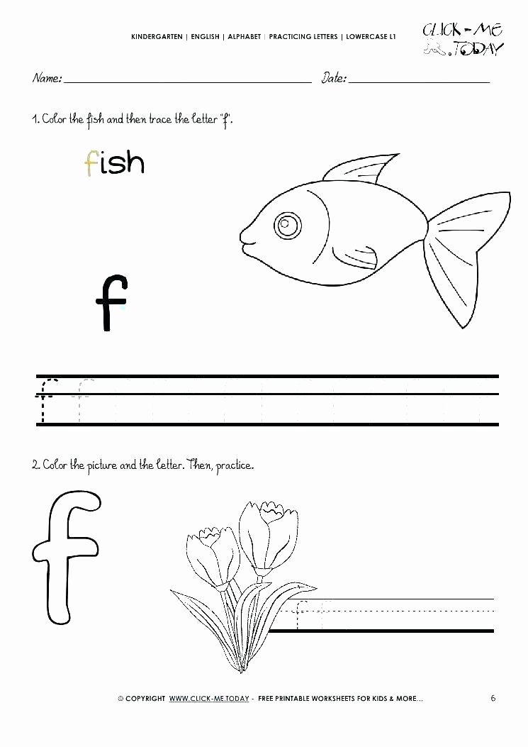 Rainbow Fish Worksheets Unique Preschool Writing Worksheets Free Printable