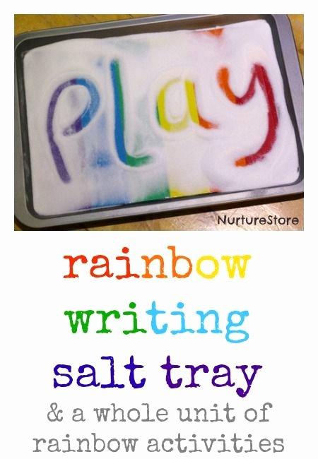 Rainbow Worksheets for Kindergarten Name Activities for Preschool Preschool Work
