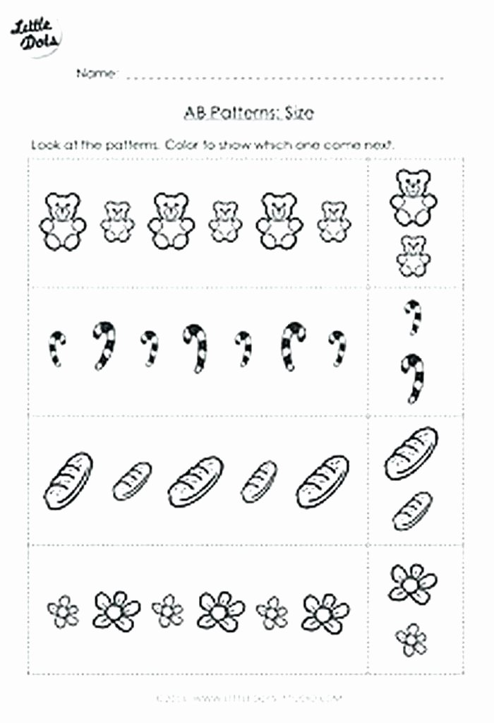 Rainbow Worksheets Preschool Free Math Worksheet Ab Patterns Printable K Worksheets