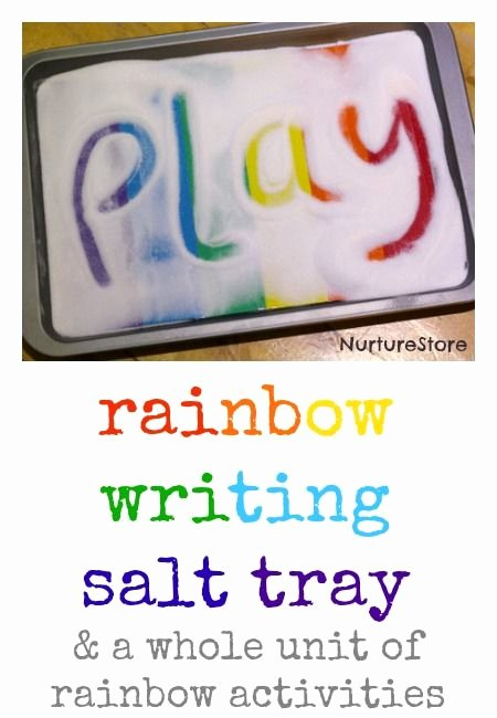 Rainbow Worksheets Preschool Name Activities for Preschool Preschool Work