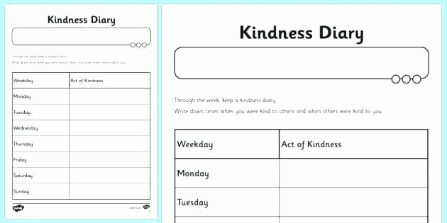 Random Acts Of Kindness Worksheets Kindness Worksheets Kindness Worksheets for Middle School