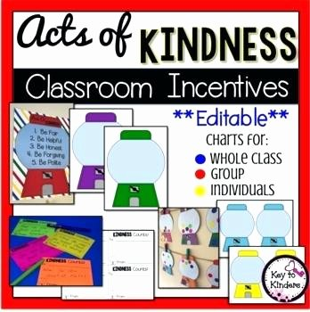Random Acts Of Kindness Worksheets Kindness Worksheets