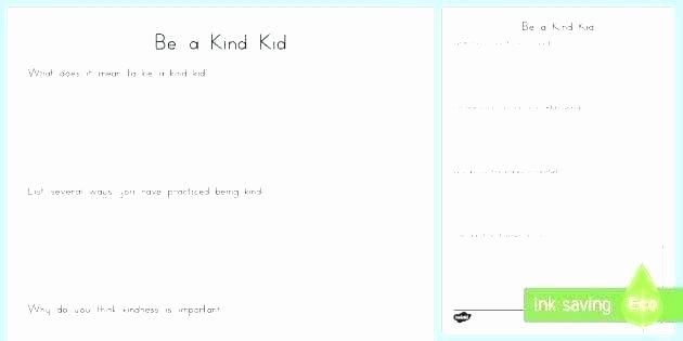 Random Acts Of Kindness Worksheets Kindness Worksheets – Spieleaffefo