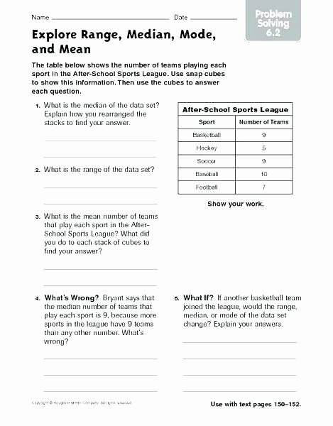 Range Mode Median Worksheets Mean Range Mode Median Worksheets – originalpatriots