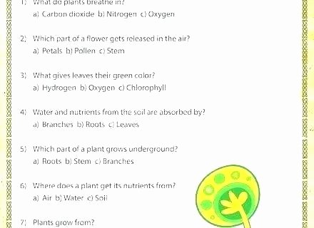 Read and Sequence Worksheet soil Worksheets for 1st Grade