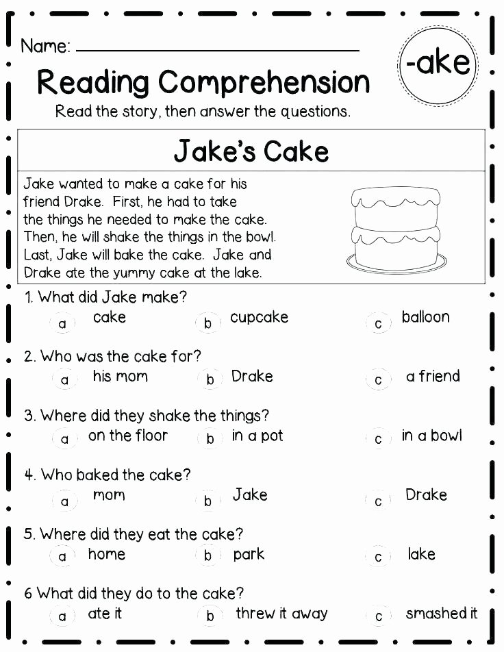 Read and Sequence Worksheets Free First Grade Reading Worksheets