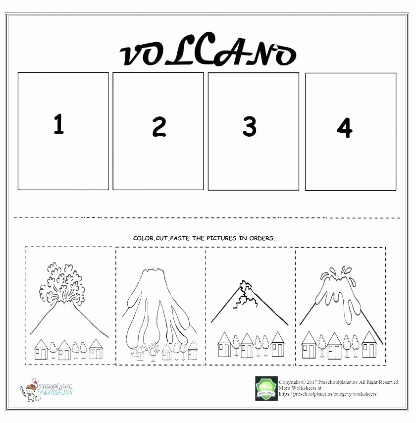 Read and Sequence Worksheets Story Sequencing Worksheets Cut and Paste Math Read Sequence