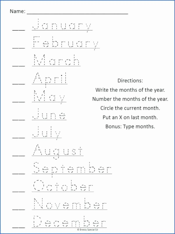 Reading A Calendar Worksheets Esl Calendar Worksheets Months Pdf the Year