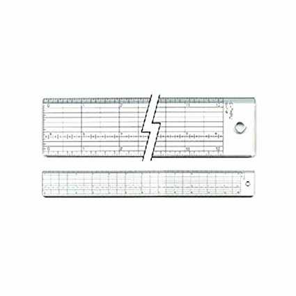 Reading A Ruler Worksheet Answers C Thru B 2m Inking and Cutting Ruler 18 Inch Amazon