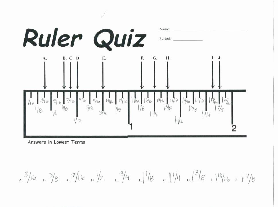 Reading A Ruler Worksheet Answers Metric Ruler Worksheet – Uasporting