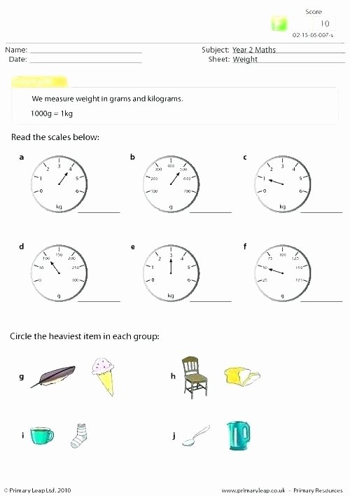Reading A Scale Worksheet Kindergarten Math Sheet – Trubs