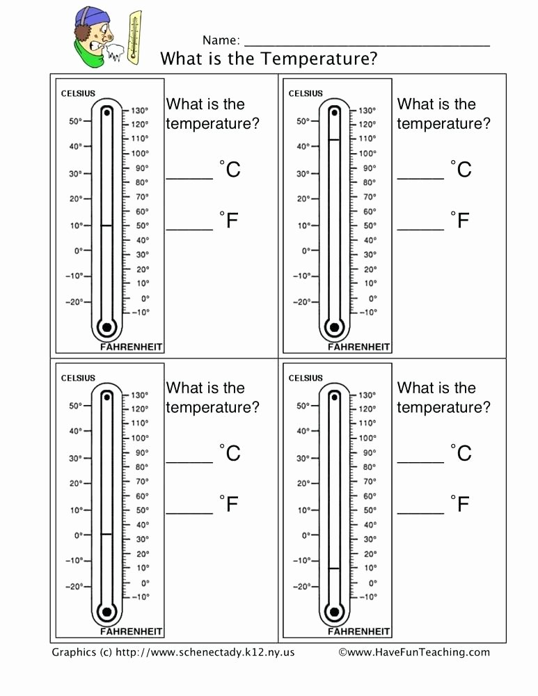 Reading A thermometer Worksheet thermometer Worksheet for Grade Lesson Planet Reading