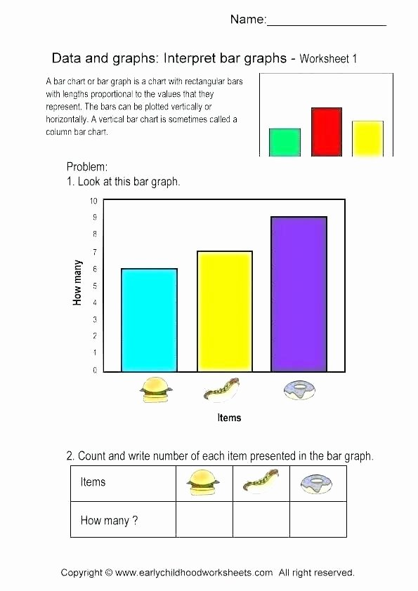 Reading Charts Worksheets Free Printable Charts and Graphs Worksheets Reading Re Bar