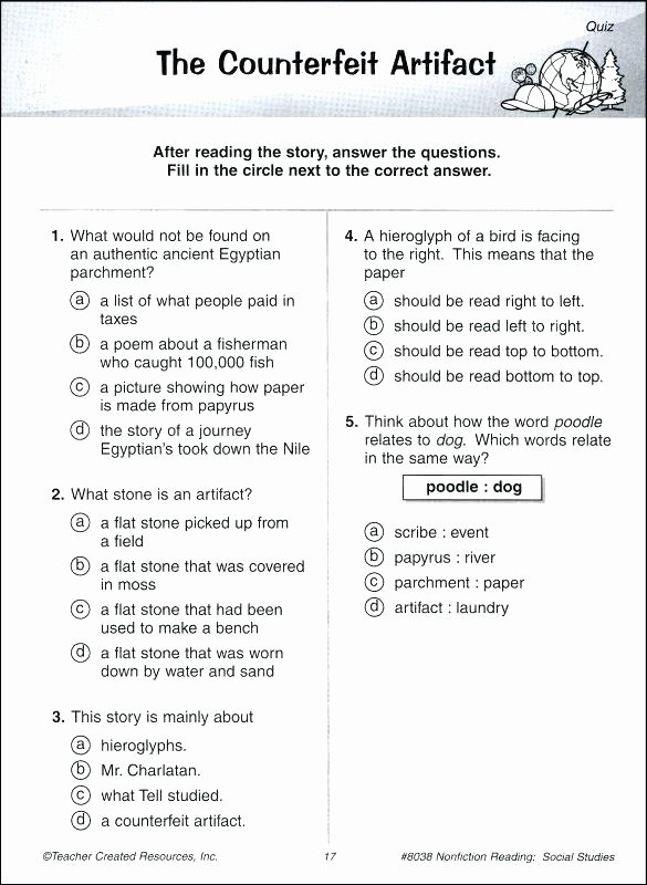 Reading Comprehension 7th Grade Worksheet Reading Prehension Worksheets for Grade 3 Lovely Free 7th