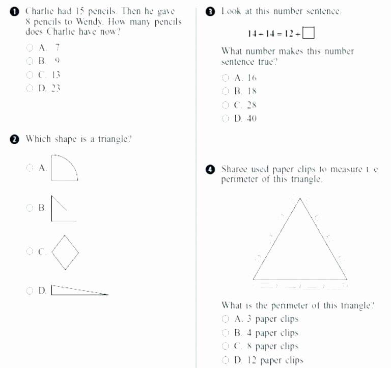 Reading Comprehension 7th Grade Worksheet Reading Skills Practice Test 4 Grade 4 Printable Test Prep