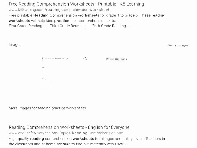 Reading Comprehension 7th Grade Worksheet Second Grade Reading Worksheets