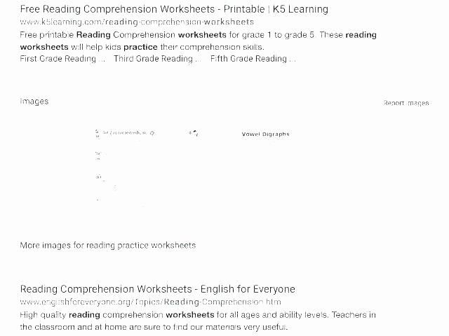 Reading Comprehension 7th Grade Worksheet Second Grade Reading Worksheets