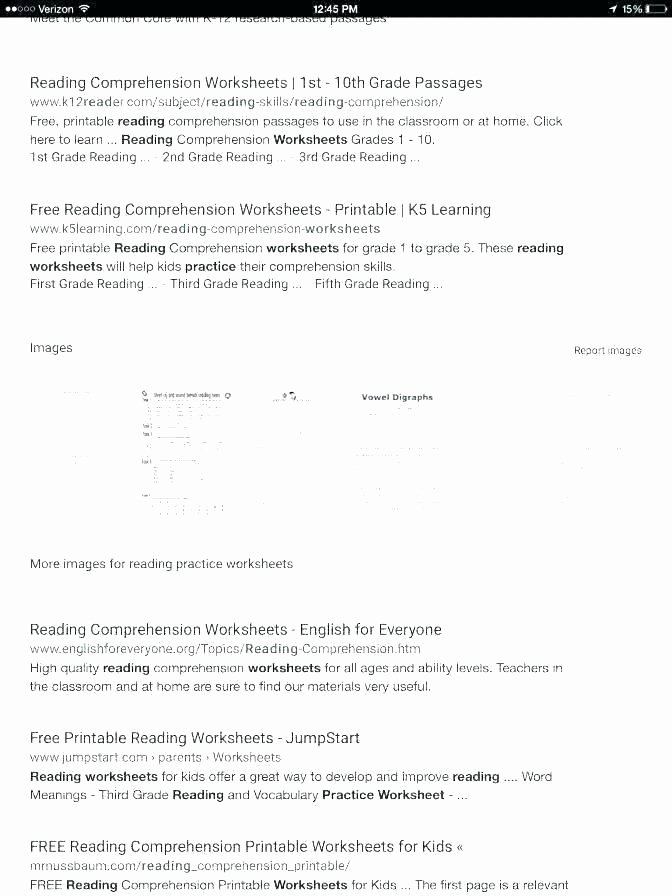 Reading Comprehension Worksheets 6th Grade Free Printable Worksheets for Grade 6