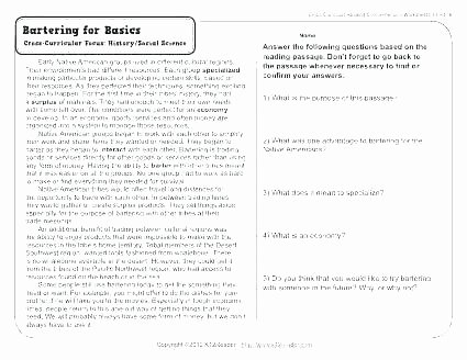 Reading Comprehension Worksheets 7th Grade Seventh Grade Ela Worksheets Seventh Grade Reading
