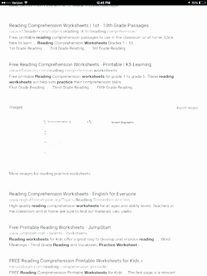 Reading In Context Worksheets 1st Reading Worksheets