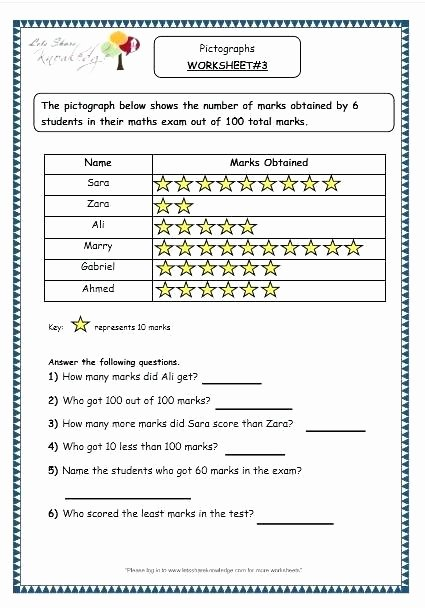 Reading Pictograph Worksheets Grade Worksheets Pound Words Grade Reading Writing
