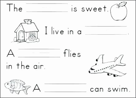 Reading Readiness Worksheets 1st Grade Language Worksheets