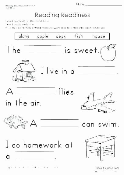 Reading Readiness Worksheets Blends Worksheets for Grade Full Size Phonics Worksheets