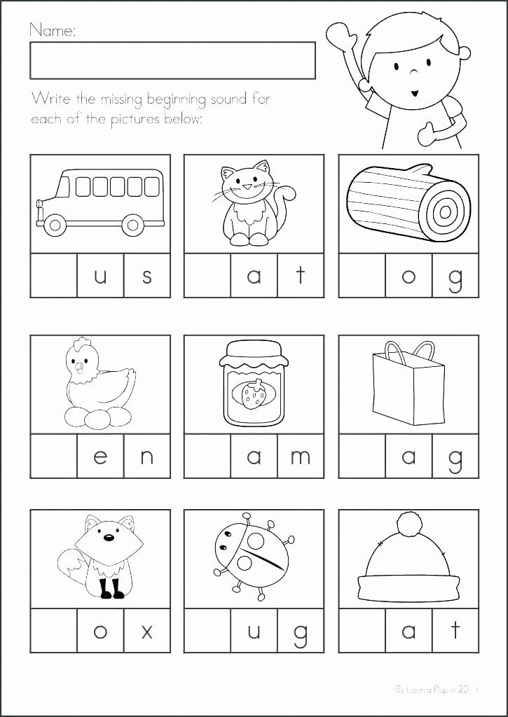 Reading Readiness Worksheets Kindergarten Prep Worksheets