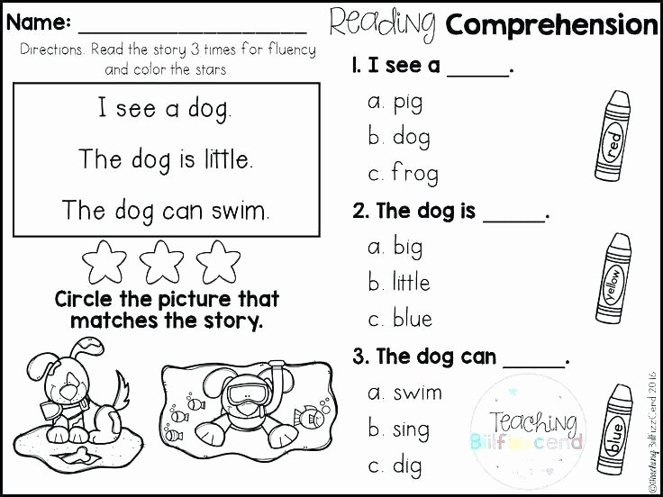 Reading Readiness Worksheets Reading Homework Worksheets