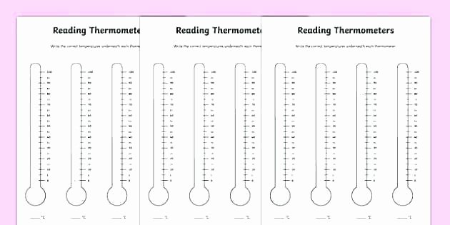 reading thermometers worksheet temperature re free blank thermometer worksheets free printable thermometer worksheets