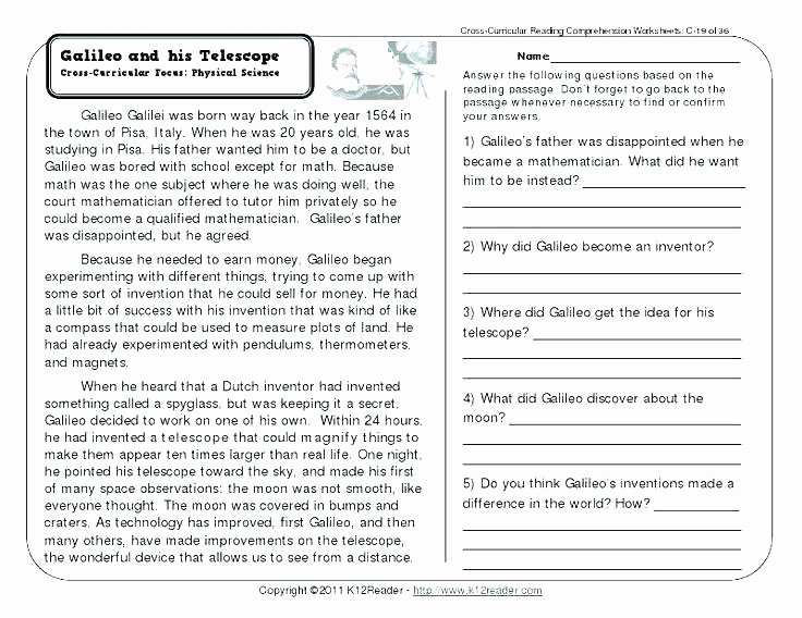 Reading thermometers Worksheet Answers Reading Worksheets with Answer Key