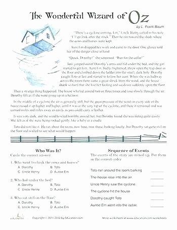 Reading Worksheets 5th Grade 5th Grade Reading Practice Worksheets