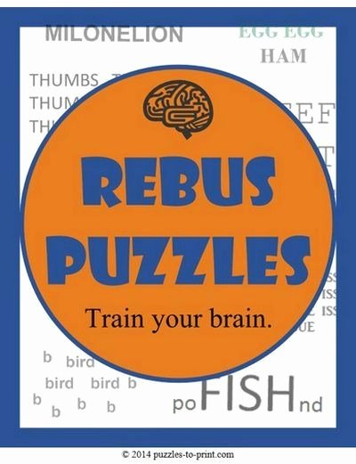 Rebus Puzzles for Middle School 23 New Rebus Puzzles Worksheet